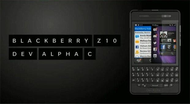 BlackBerry Dev Alpha C