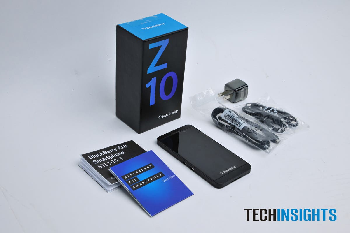 BlackBerry Z10 in Einzelteile zerlegt