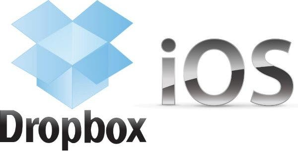 Dropbox iOS Logo