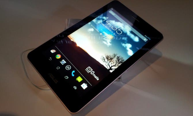MWC: ASUS Fonepad 7-inch Tablet mit Telefonfunktion im Hands-on Video