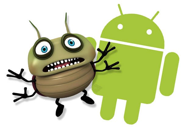 Android mit Bug