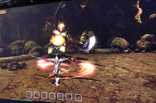 Blood Sword THD on NVIDIA Tegra 4 Tablet