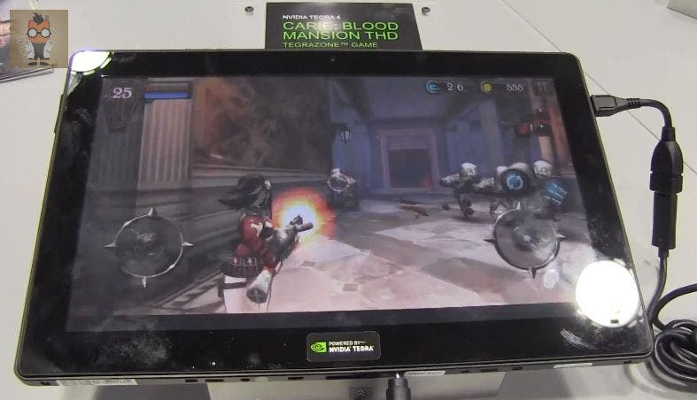 Carie Blood Mansion NVIDIA Tegra 4