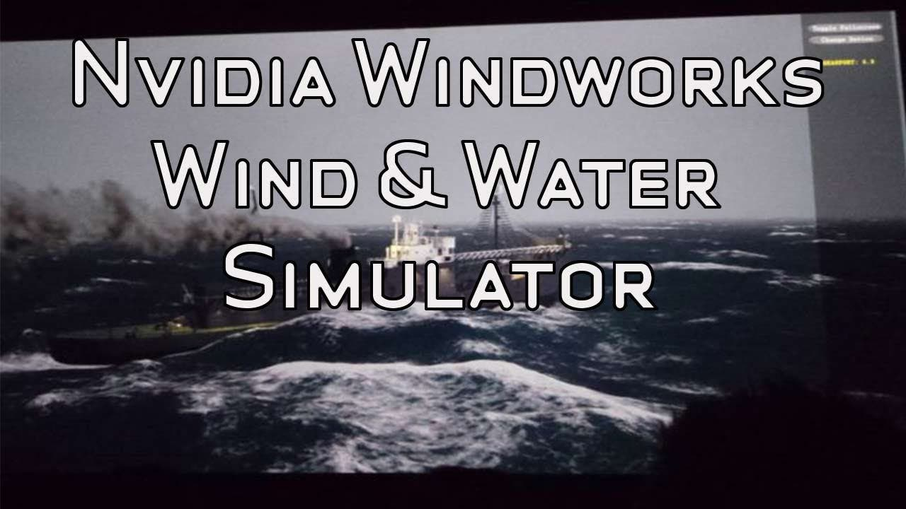 NVIDIA Waterworks Demo - Wave and Wind Simulation
