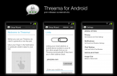 Threema Android Pre-Release Screenshots