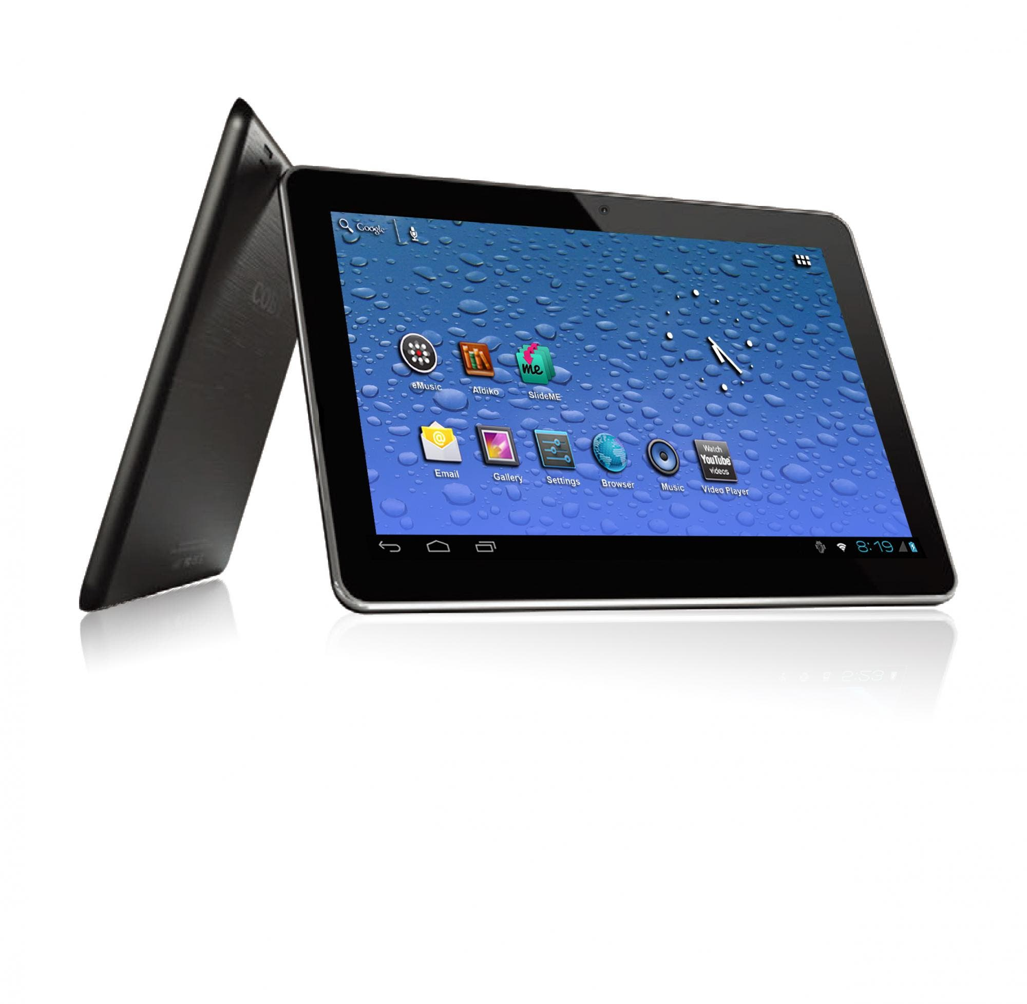 Coby MID1054: 10.1-inch Tablet mit Intel Atom Prozessor