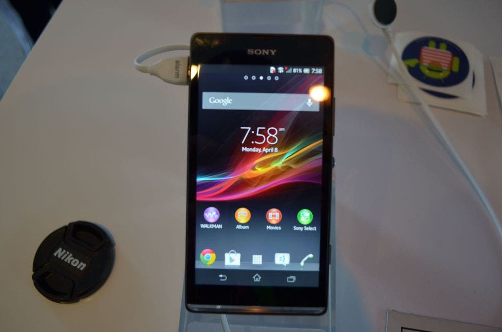 Droidcon: Sony Xperia SP Smartphone im Hands on-Video