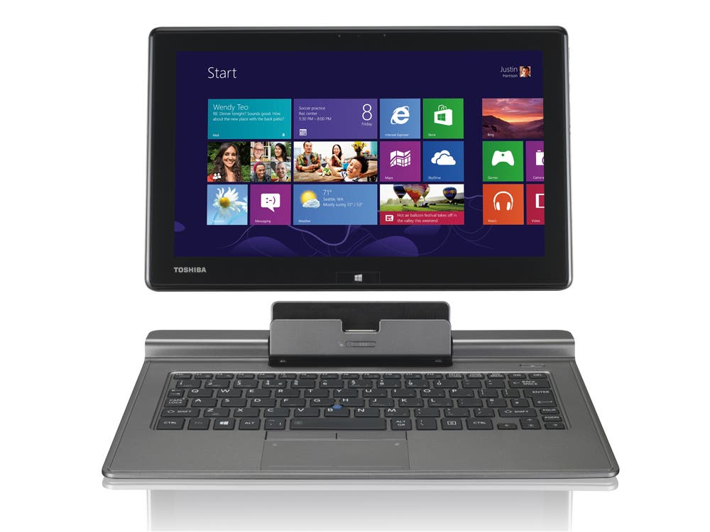 Toshiba Portege Z10t: Professionelles 2-in-1 Tablet-Ultrabook jetzt mit mattem Display