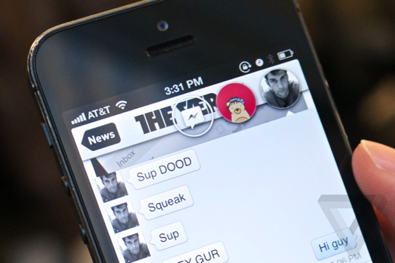 Facebook Chat Heads unter iOS systemweit mit Jailbreak Tweak