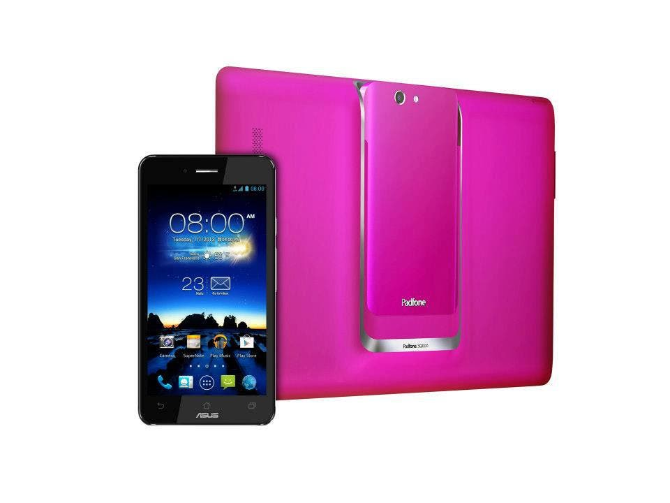 ein geschenk f r mutti asus padfone infinity in hot pink. Black Bedroom Furniture Sets. Home Design Ideas