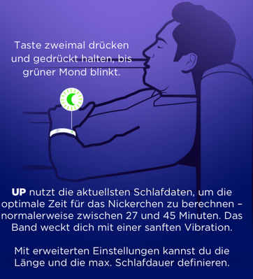 Jawbone UP Nickerchen