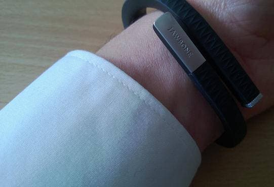 Jawbone Up Handgelenk