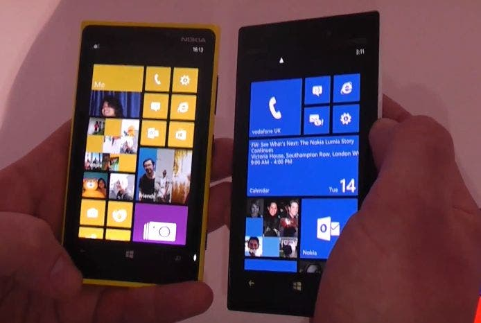 Nokia Lumia 920 vs Nokia Lumia 928