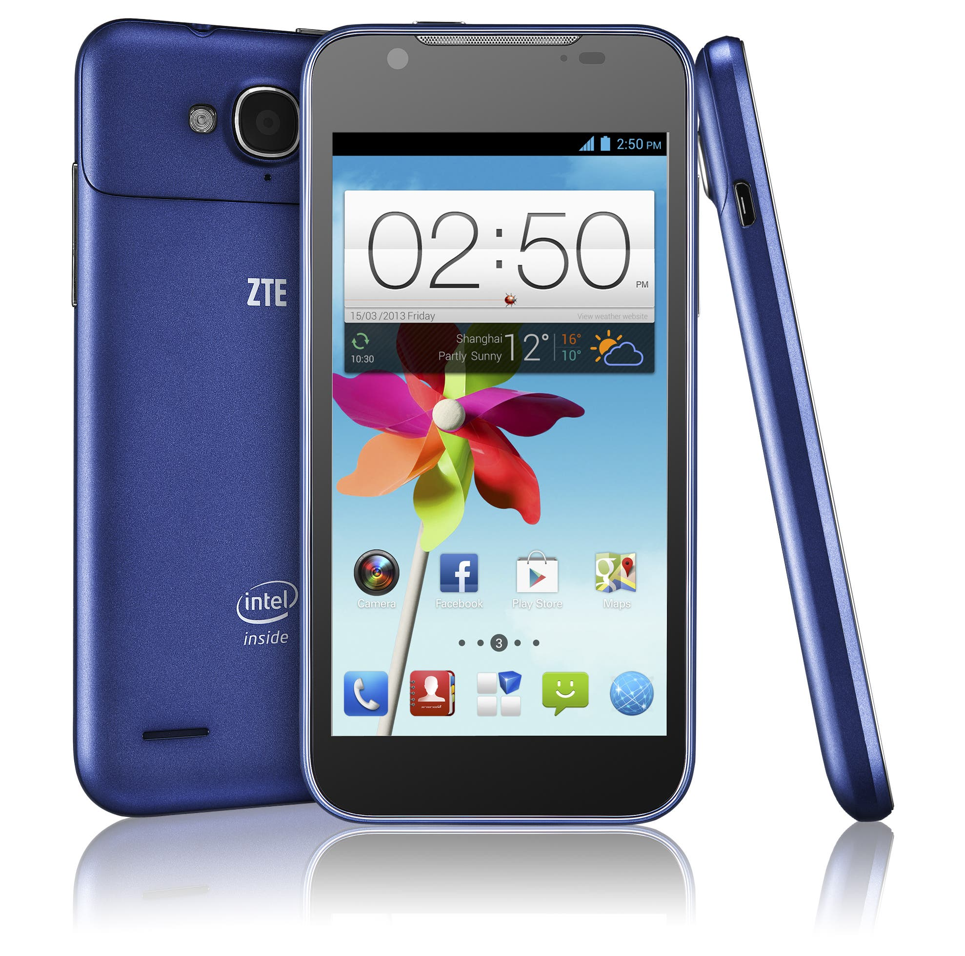ZTE Grand X2 In Android-Smartphone mit Intel Atom Dual-Core-CPU vorgestellt