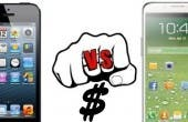 iPhone 5 vs Galaxy S4