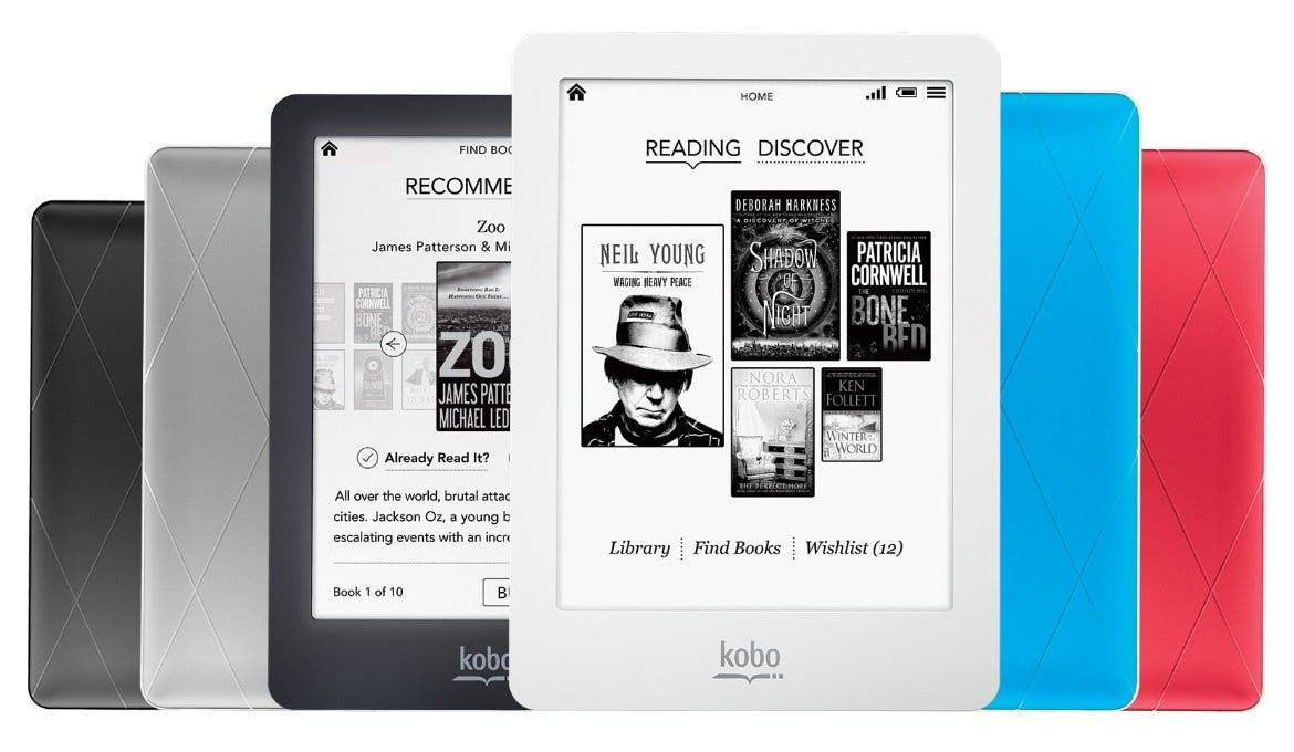 eBook-Reader Kobo Glo