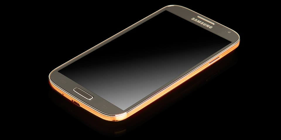 samsung galaxy s4 rose gold 2