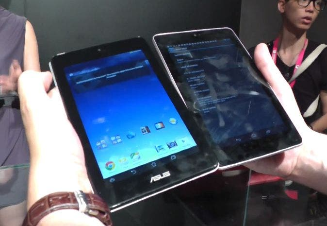 ASUS MeMO Pad HD 7  vs Nexus 7