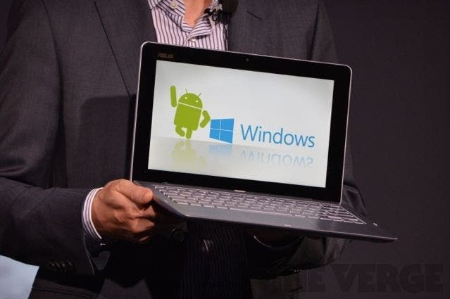 ASUS TD300LA 2-in-1 Ultrabook mit Android & Windows, Haswell-Y geleakt