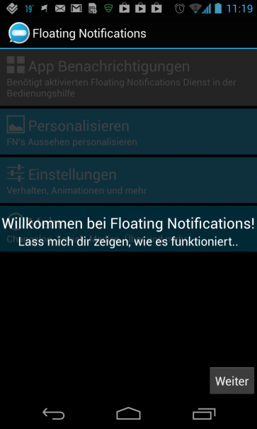 Floating Notifications Tutorial
