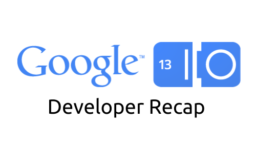 Google IO 13 Developer Recap Logo