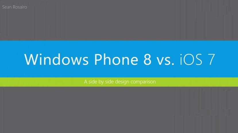 Windows Phone 8 vs iOS 7
