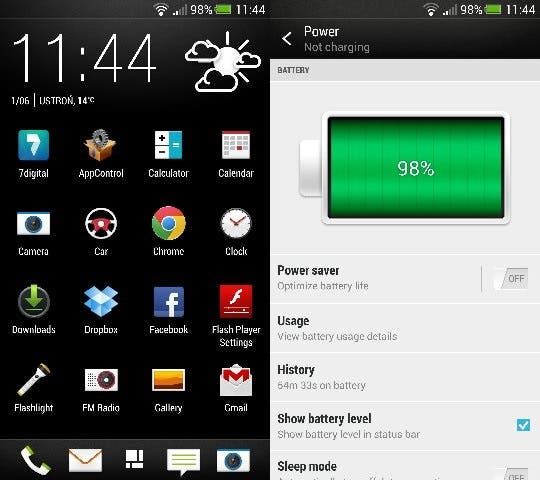 htc one android 4.2.2 htc sense 5.0 1
