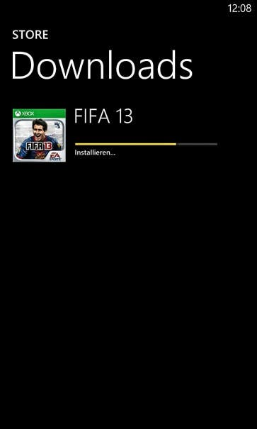 FIFA 13 WP8 Installation