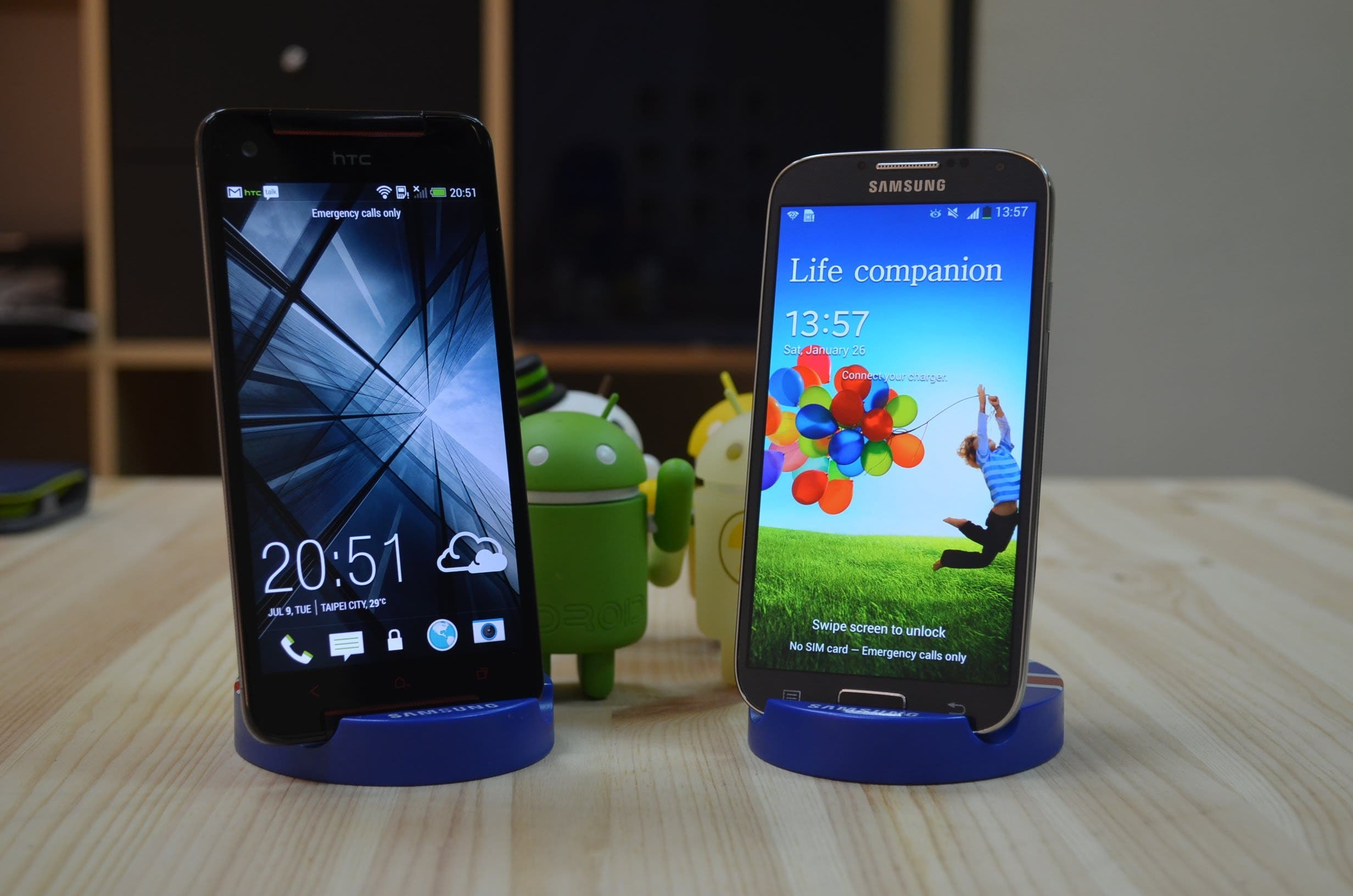 Galaxy S4 vs Butterfly S