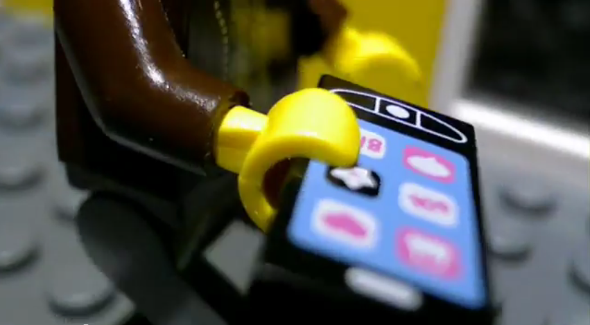 Nokia Video Stop Motion Lego