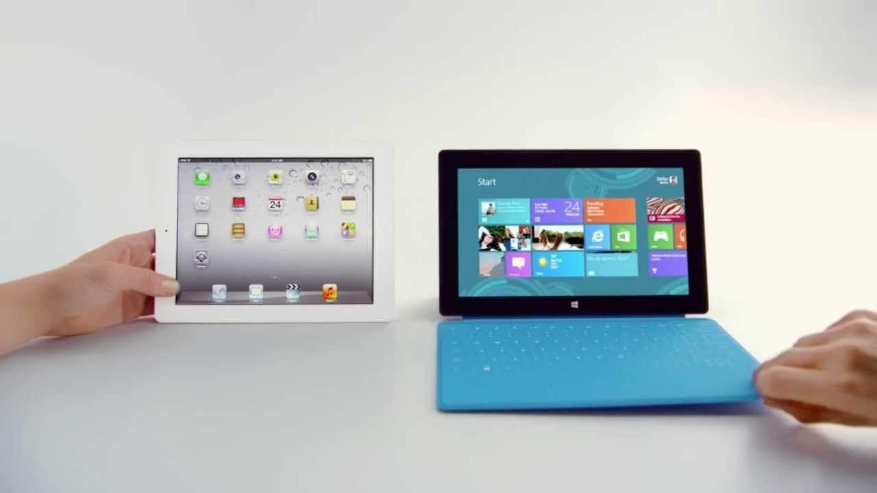 iPad vs Surface