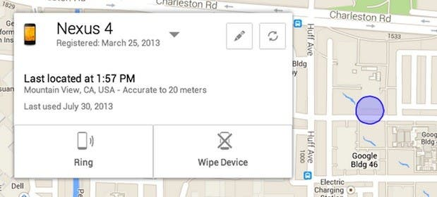 Android Device Manager: Google beginnt mit dem Rollout