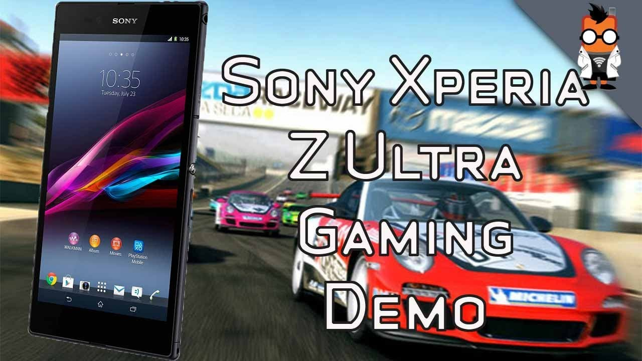 Sony Xperia Z Ultra Gaming