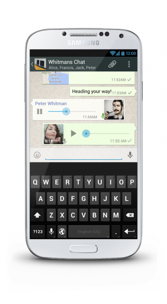 WhatsApp-Voice-messaging