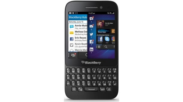 blackberry q5 presse
