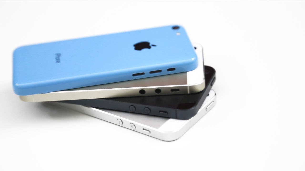 iPhone 5C vs iPhone 5S vs iPhone 5