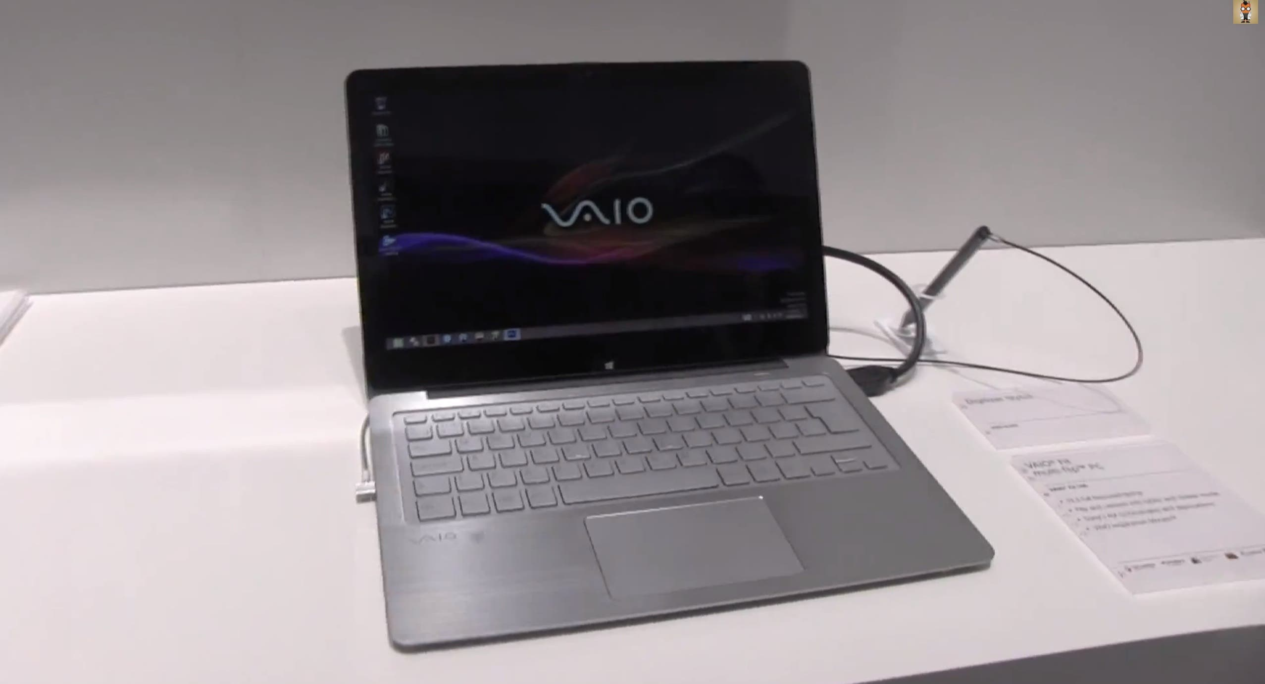 IFA: Sony VAIO Fit Multi Flip 13 Hands On