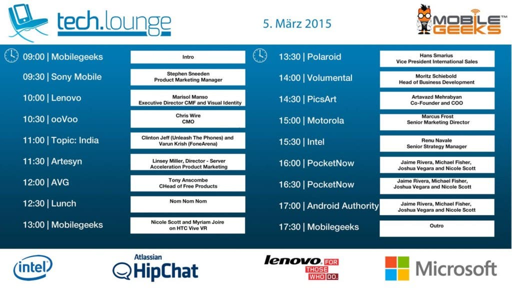 MWC2015-techloung-timetable-day-3