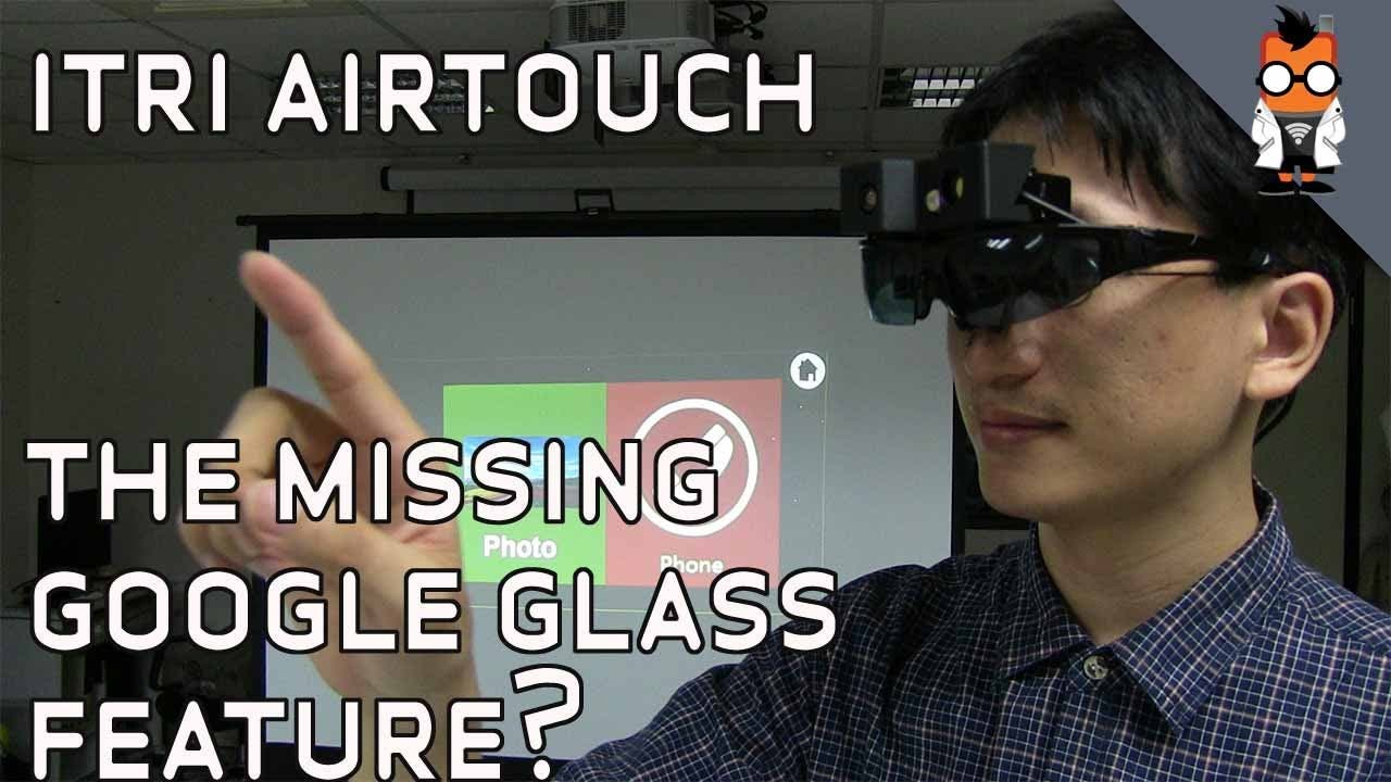 ITRI iAT: Air Touch-Technologie im Hands-on-Video