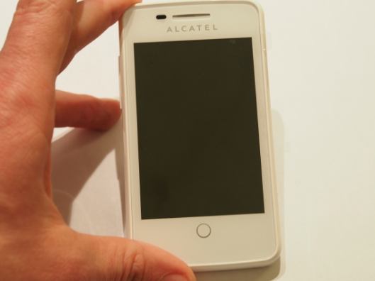 Alcatel one touch fire ansicht test
