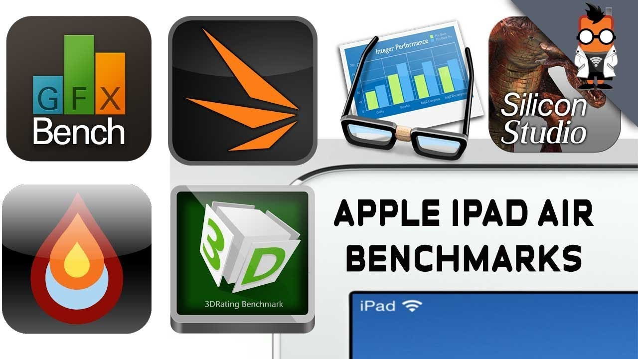 [Video] Apple iPad Air im Benchmark-Test