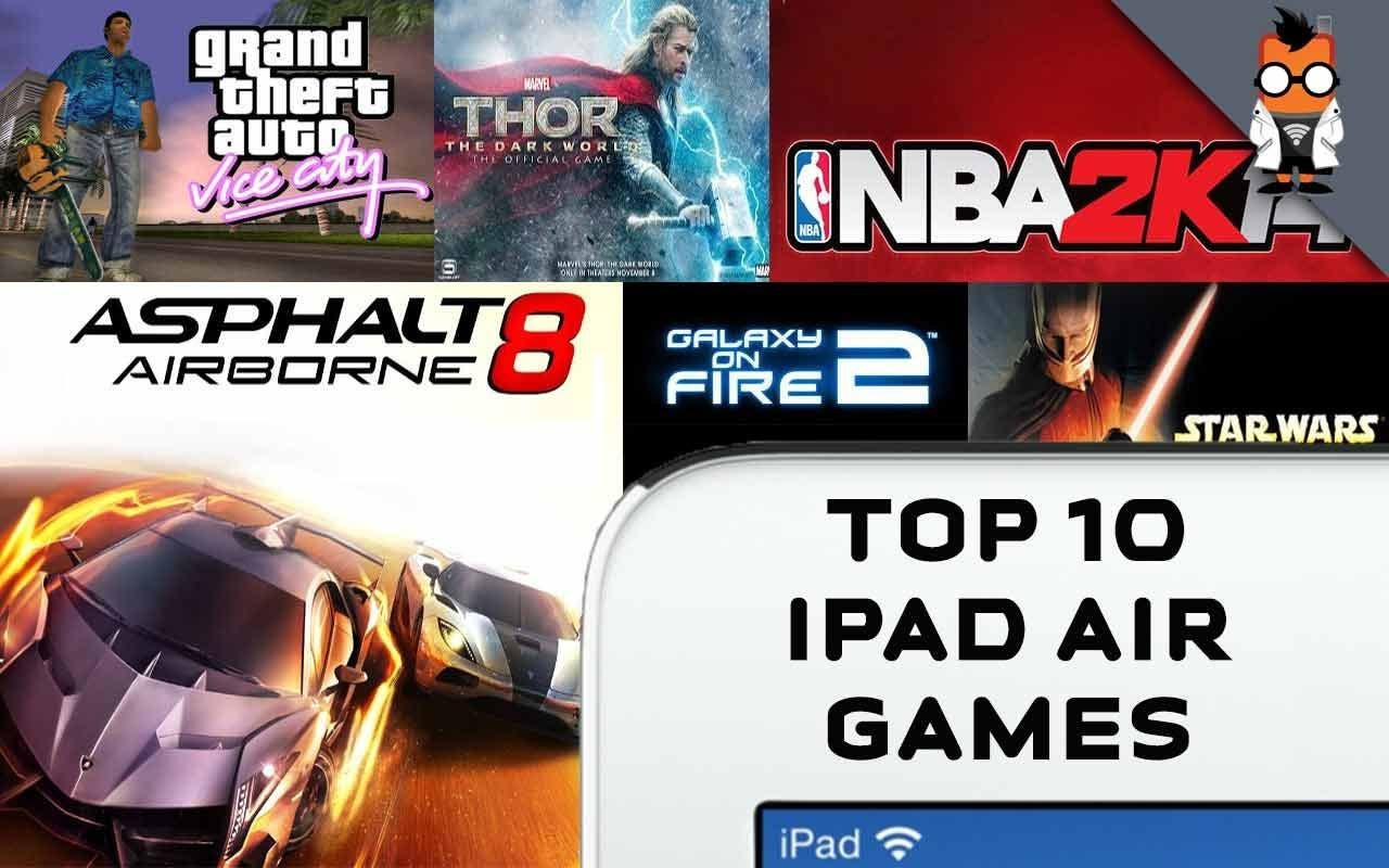 Apple iPad Air Top Games