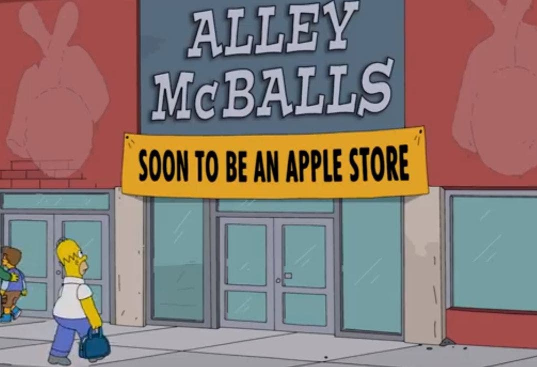 Homer Apple Store