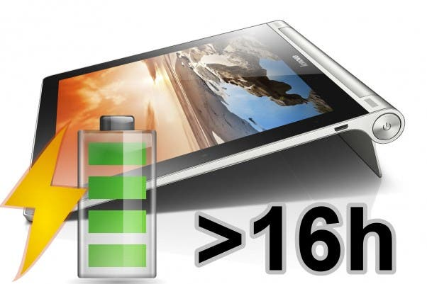 Lenovo Yoga Tablet 8 Battery Life