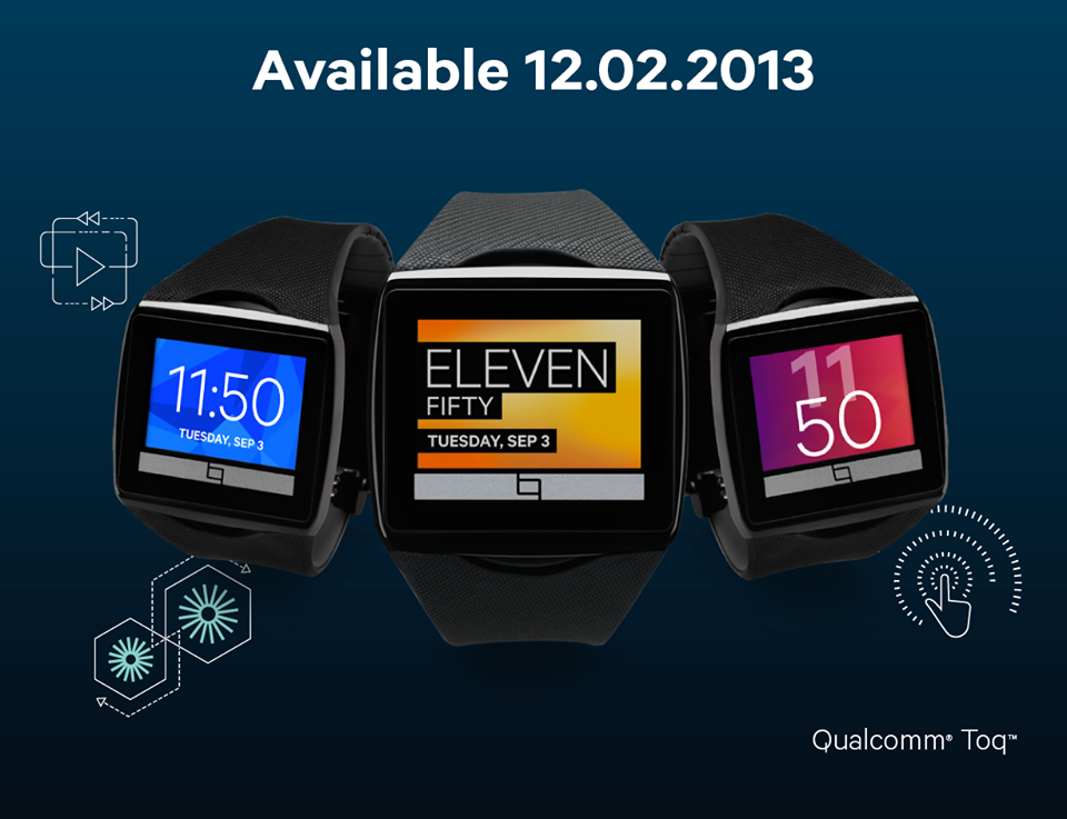 TOQ Smartwatch available