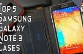Top 5 Cases Galaxy Note 3