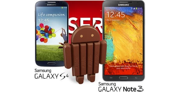Galaxy S4 Android KitKat