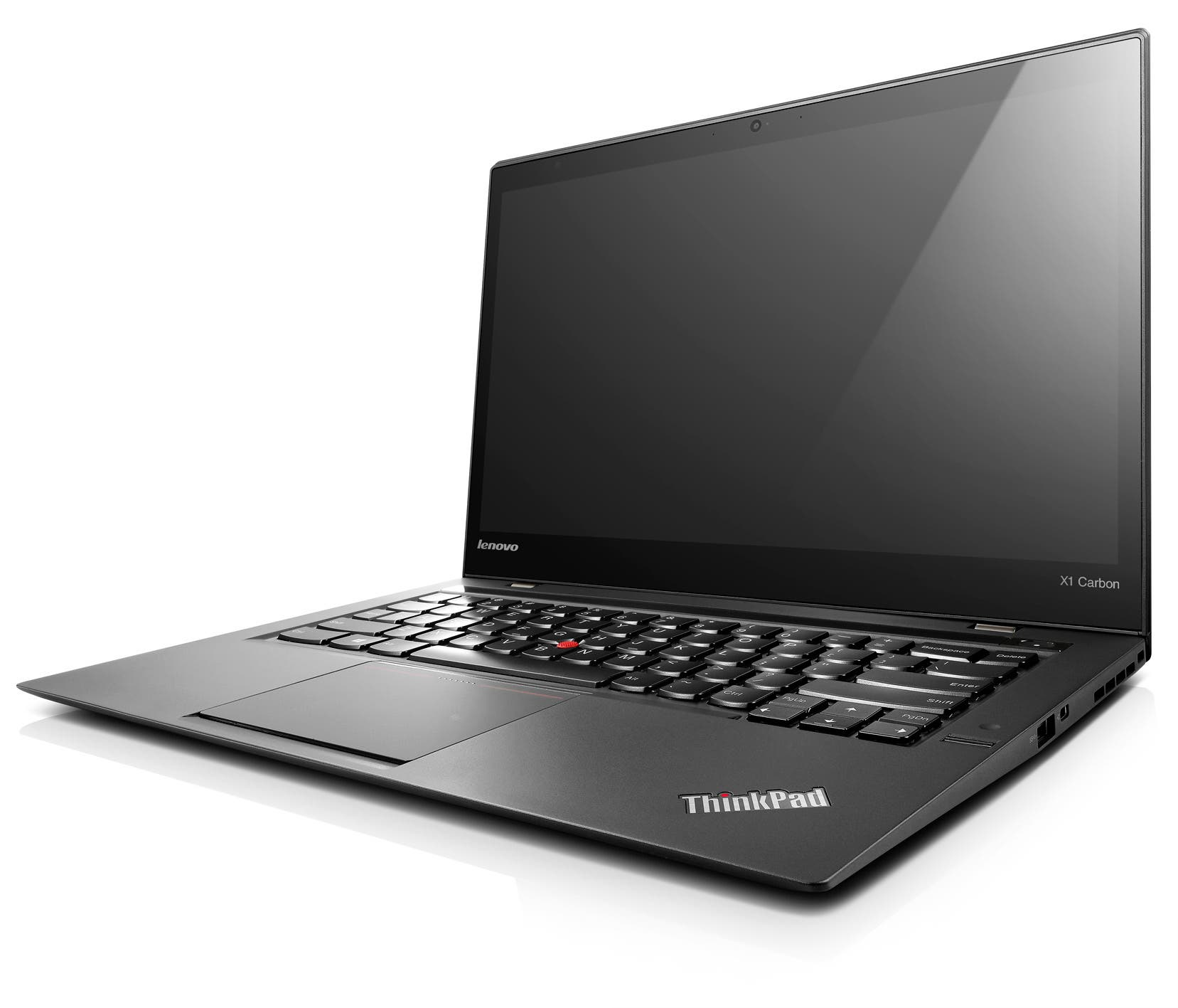 Lenovo New X1 Carbon Touch_Front open