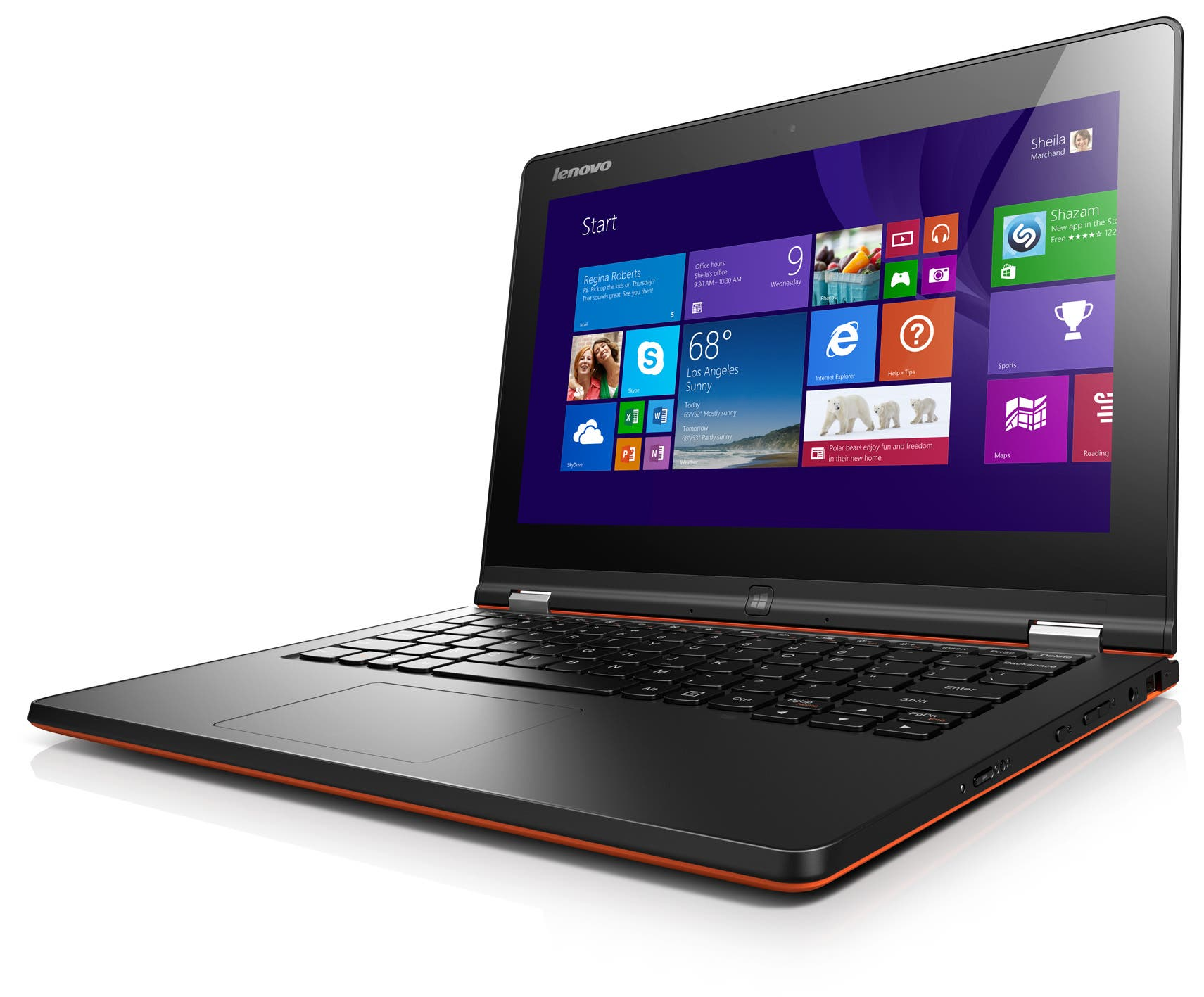 Lenovo Yoga 2 11' Orange_Standard