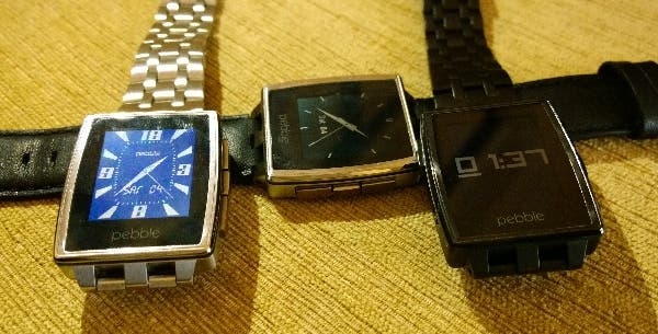 Pebble Steel Titel